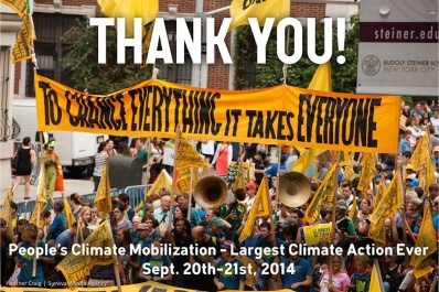 climate march thank you 2