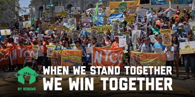 NY renew rally