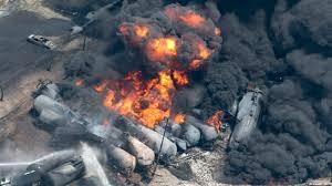 oil train explode