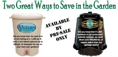 rain and compost