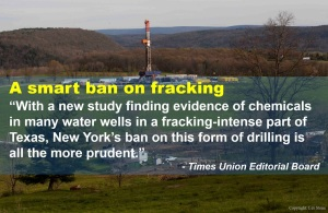 fracking ban official